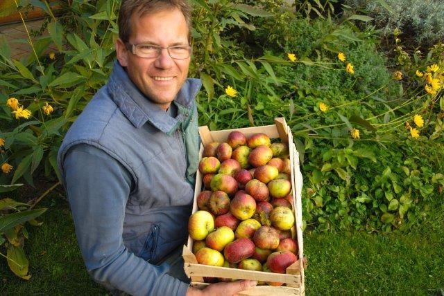 Marko z jabolki