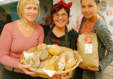 Delavnice zdrave peke z ekološkimi mokami
