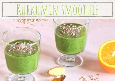 smoothie s kurkumo