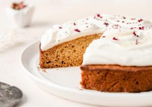 Torta iz durum moke brez sladkorja